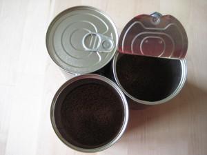 puszka kawy